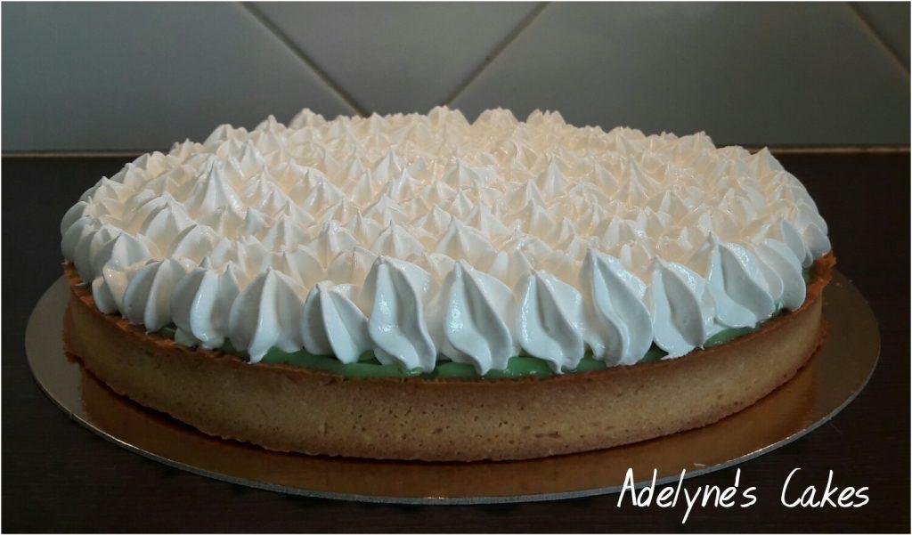 Meringue sur tarte
