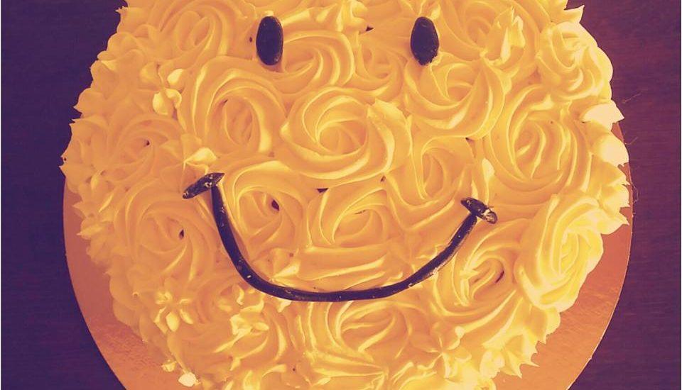 Gateau smiley