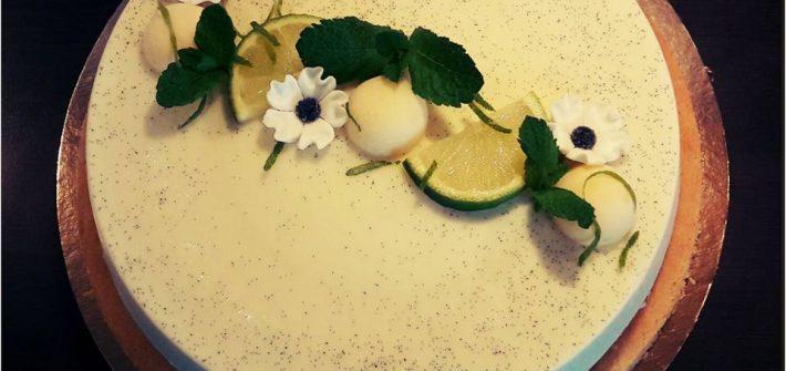 Panna cotta citron