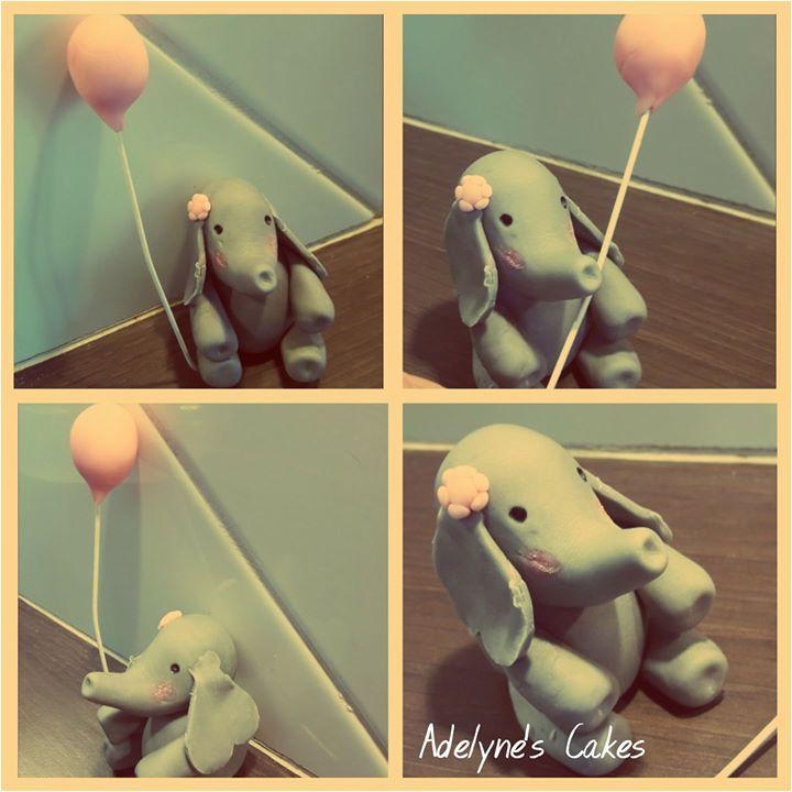 Elephan pâte à sucre