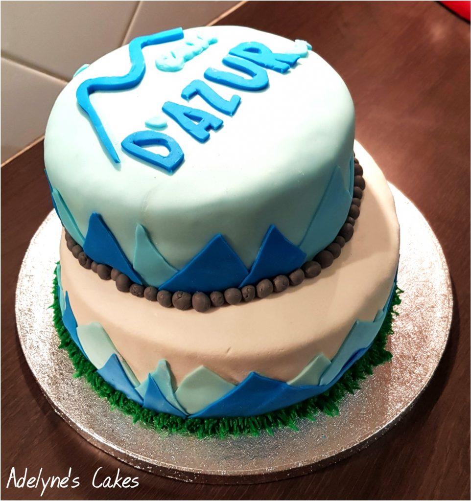Cake design Eau d'azur