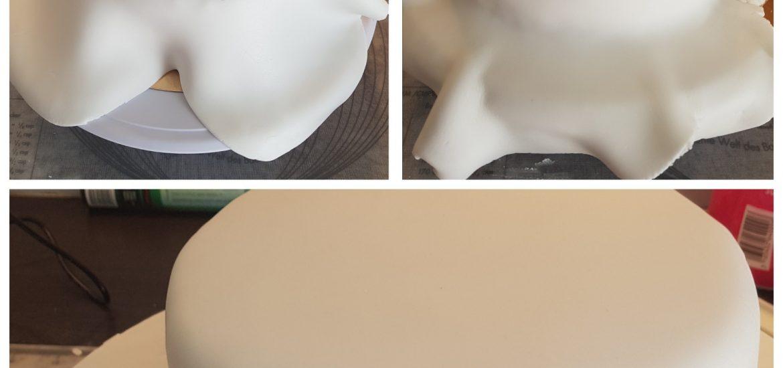 Comment recouvrir un gâteau de pâte à sucre ou pâte d'amande