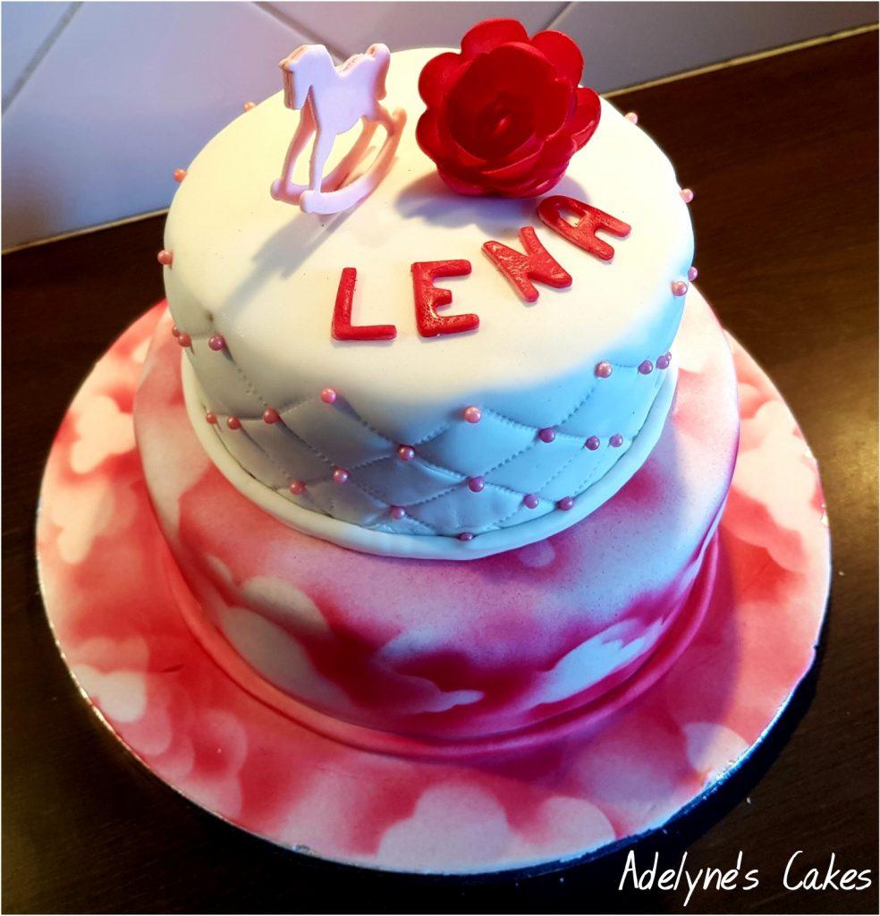 Gâteau baby shower