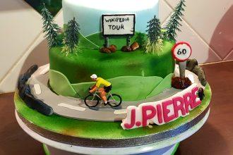 Gâteau cycliste