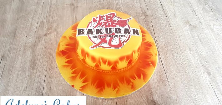 Gâteau Bakugan
