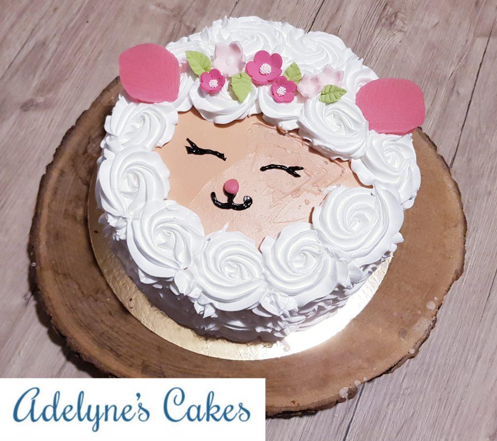Cake design mouton